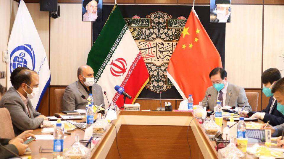 Chinese Ambassador To Iran Visits Satra