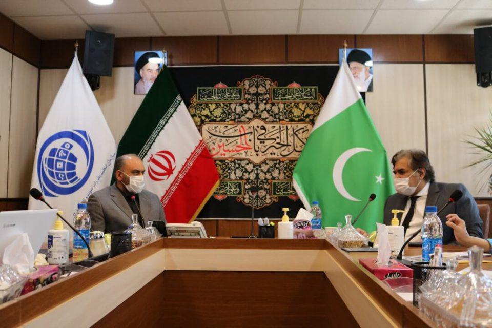 SATRA's Chief Executive, Pakistan's Ambassador Meet in Tehran